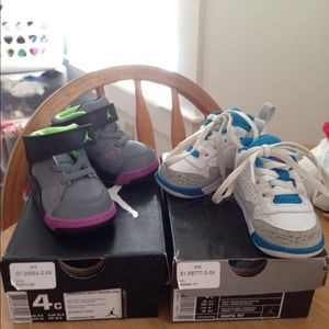 off Jordan Shoes Baby Jordan s size 4c from