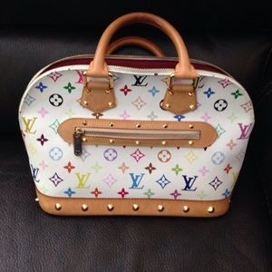 Louie Vuitton Alma PM multi color authentic bag