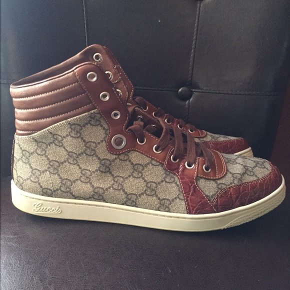 9bc9af97ce2 Gucci Other - AUTHENTIC Men crocodile Gucci sneakers