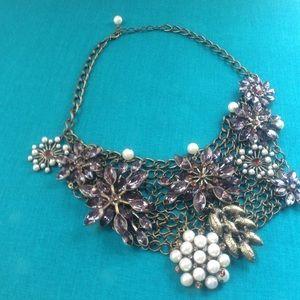Jewelry - SALE! Beautiful Bronze Bib Necklace