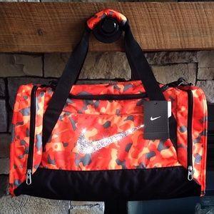 Swarovski Bling Nike Duffel