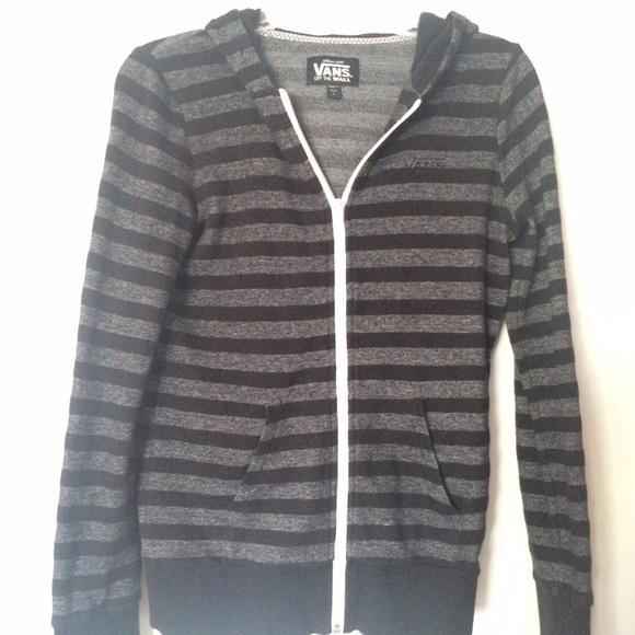 vans zip up hoodie