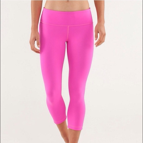 34% off lululemon athletica Pants - Lululemon Pink ...