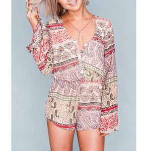 Show me your MuMu Red Rocks Romper - Paisley Print