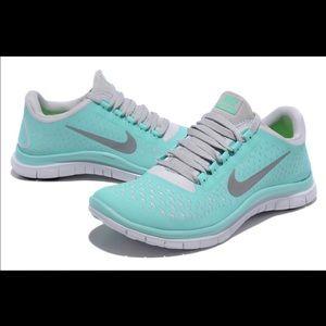 1e96d27e5502 Nike Shoes -   ISO   NIKE Free run 3.0 in Tiffany Blue !