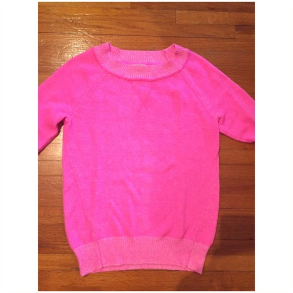 55% off GAP Sweaters - GAP neon pink sweater from Kelly's closet ...
