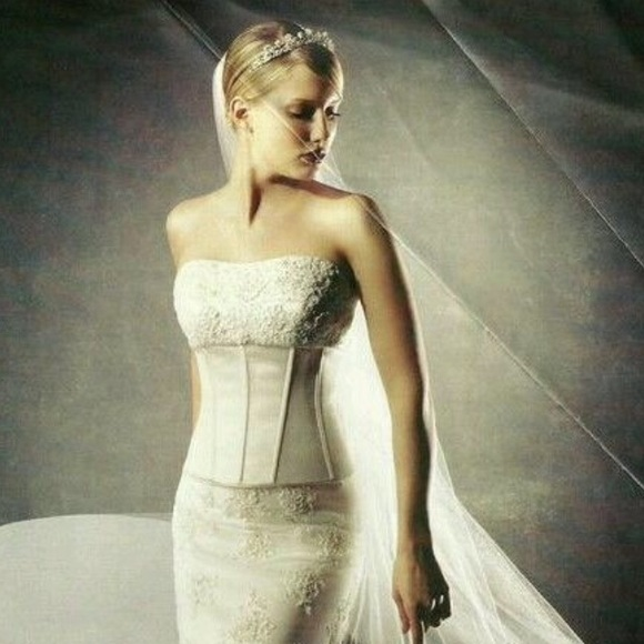 Oleg Cassini Dresses Twopiece Corset Wedding Gown Poshmark