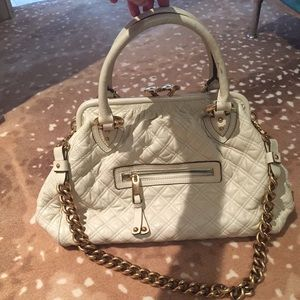 Marc Jacobs Handbags - Marc Jacobs ivory Stam bag