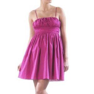  Luella x Target magenta party dress 