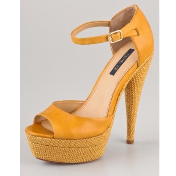 9f67fdfb620 Rachel Zoe Bardot Platform Sandals. M 55d2657e9d64e56e01013d92
