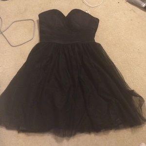 Black bridesmaid/formal/prom dress