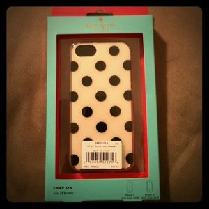 NWT kate spade iPhone 5/5S case