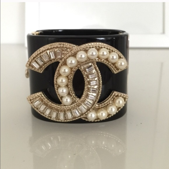 Fake Diamond Cuff Bracelet