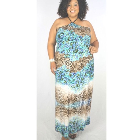 Janette Plus Dresses & Skirts - Janette Plus Size 2XL Casual and Comfy Floral Maxi