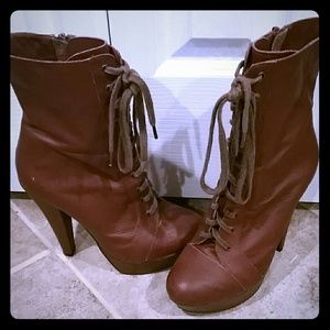 Topshop heeled boots