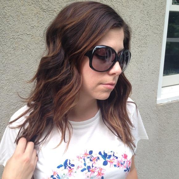 fa8a3026435c Dior Accessories - Dior Glossy 1 584LF Black Sunglasses Authentic