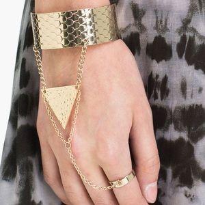 Bohemian hand chain
