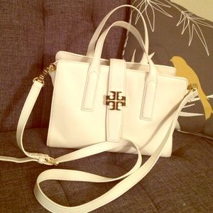 Tory Burch Plaque Convertible Satchel