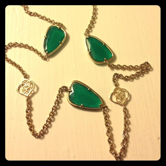 da6b8b681 Kendra Scott Jewelry - Kendra Scott Kinley Long Station Necklace