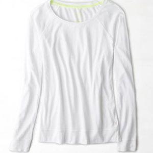 American Eagle Outfitters Tops - New American Eagle Long Sleeve Raglan T-Shirt XXS