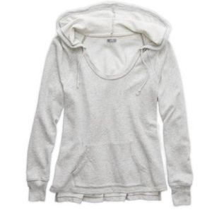 New Aerie Hooded Pullover XS