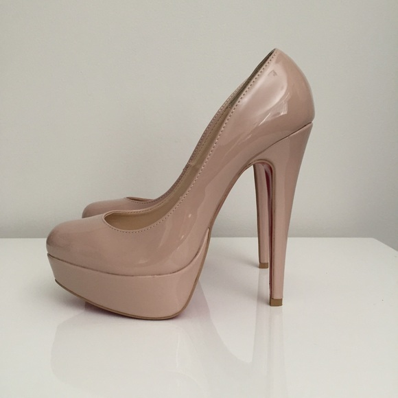 Shoes | New Nude Patent Leather Red