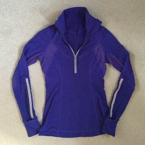 Deep purple lululemon pullover