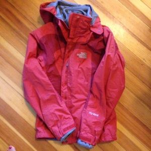 The North Face Jackets & Blazers - North Face red ski jacket