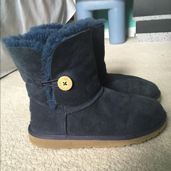 womens navy blue ugg boots