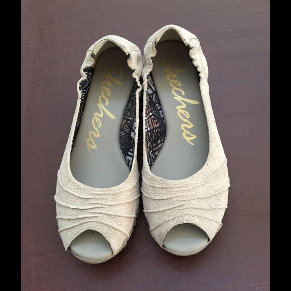 skechers open toe