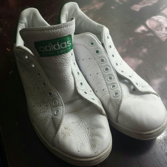 finest selection a4cc9 f3c2b Vintage Adidas Stan Smith Tennis Shoe Woman's sz 9