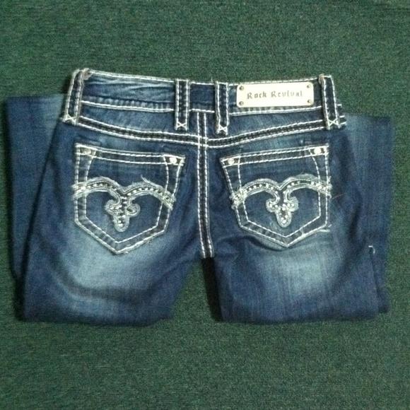 Sale✨ Rock Revival Jeans