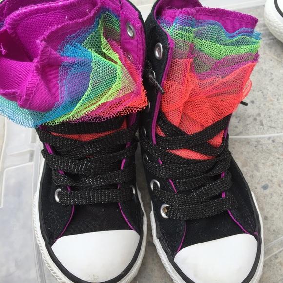 Converse Shoes - Little girls converse size 11 e98dc3632