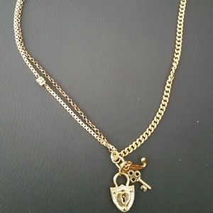Jewelry - Juicy couture keylock necklace
