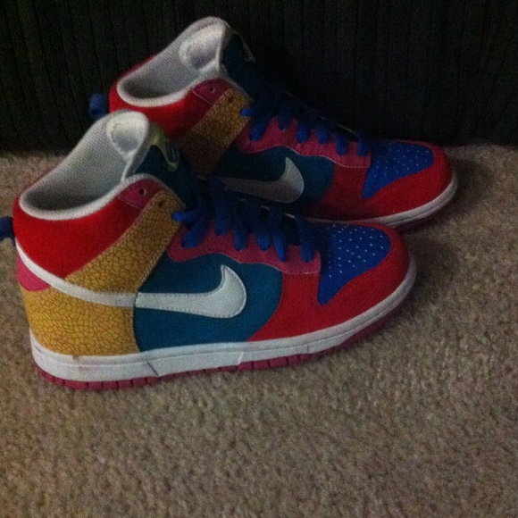 Nike Shoes | Colorful Nikes Size 65