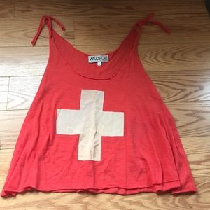 Wildfox lifeguard tank M