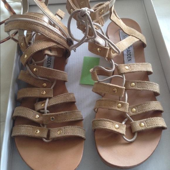 d59cc9ab67f Steve Madden Sparra Gladiator sandal. M 55da43a72de51222dc01c5e8