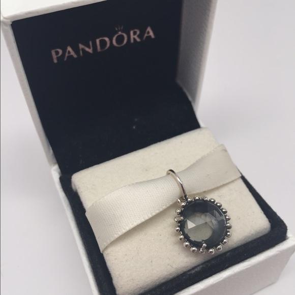 Pandora Moonstone Earrings: Pandora Grey Moonstone Pendent