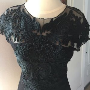 Vivienne Tam Gorgeous Piece of Art Black Top