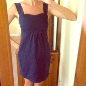 Darling denim mini-dress
