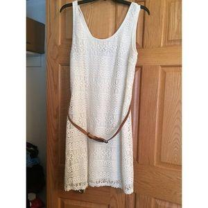 Isabel & Nina White Lace Dress!