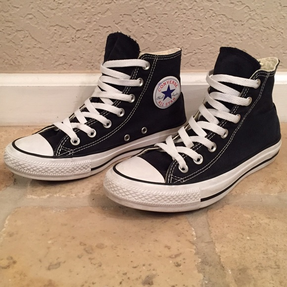 all black converse size 5