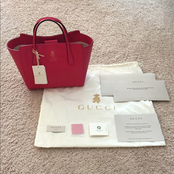2343869eaabc Gucci Bags | Nwt 100 Authentic Swing Mini Tote | Poshmark