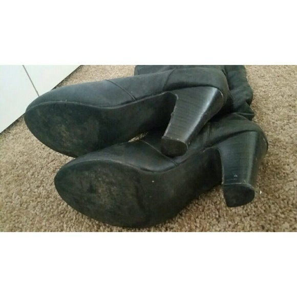 Black Business Shoes With Hee