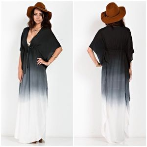 "X ""Horizon"" Maxi Ombre Dress"