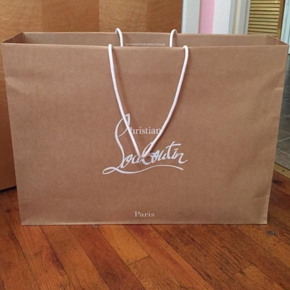 Cheap Christian Louboutin Shopping Bag
