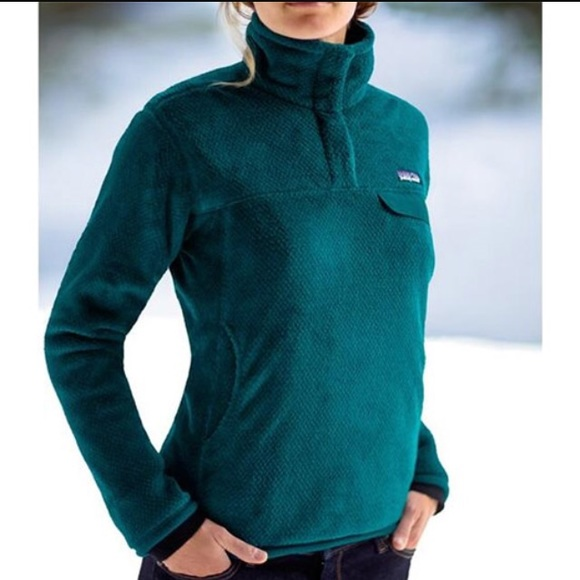 Patagonia - Patagonia Re-Tool Women's Fleece Pullover teal from ...