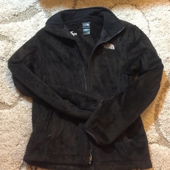 222b68ca8 *SALE*The North Face woman's brown fuzzy jacket