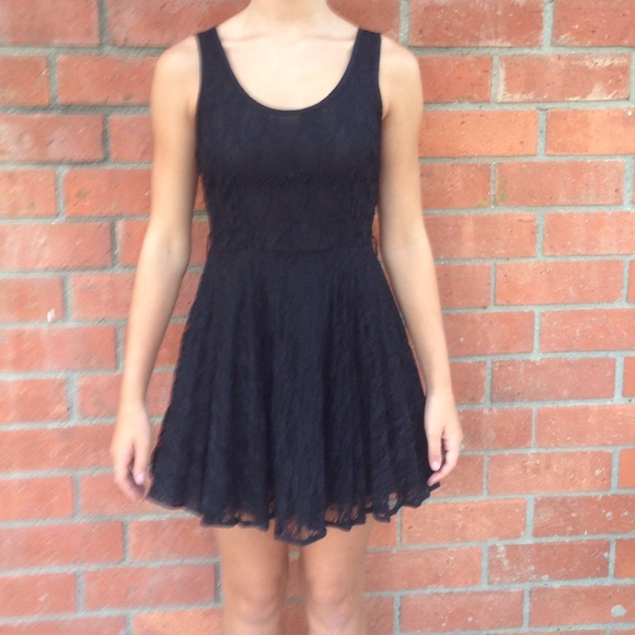 Rachel And Chloe Dresses Black Lace Dress Poshmark