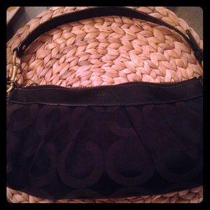 Coach Black mini handbag